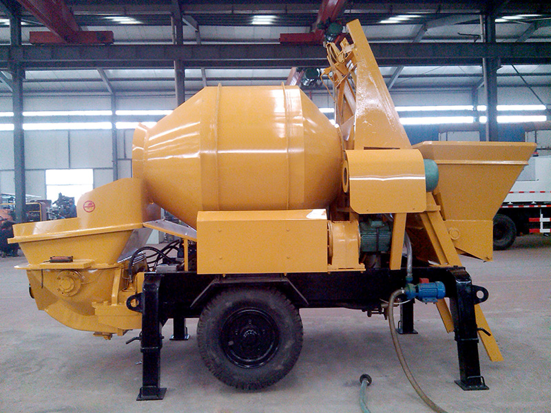 small cement mixer pump