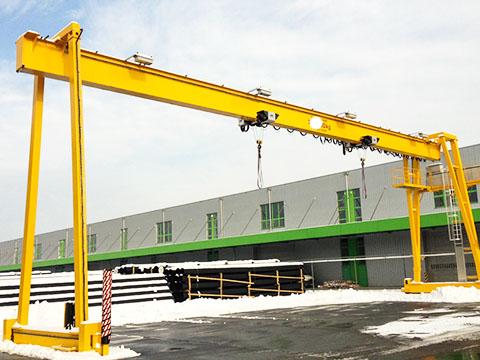 A-type 6 ton gantry crane sale