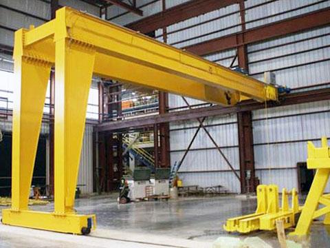 double girder 6 ton gantry crane supplier