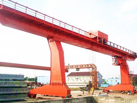 single girder gantry crane of Weihua for sale