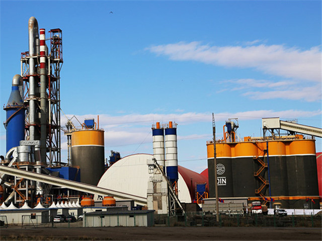 Cement Production Line small  in China