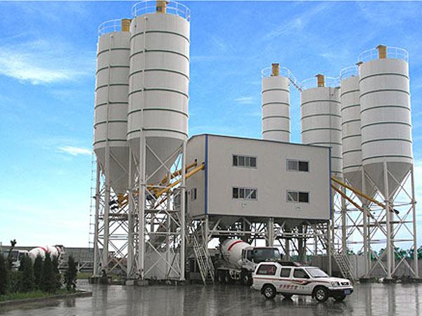 small concrete plant