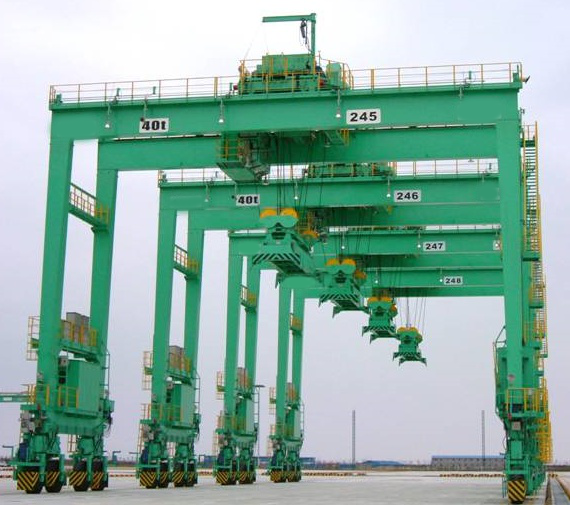 Professional Rubber Tyred Gantry Crane
